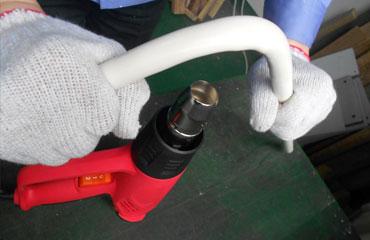 Plastic Bending From Heat Gun