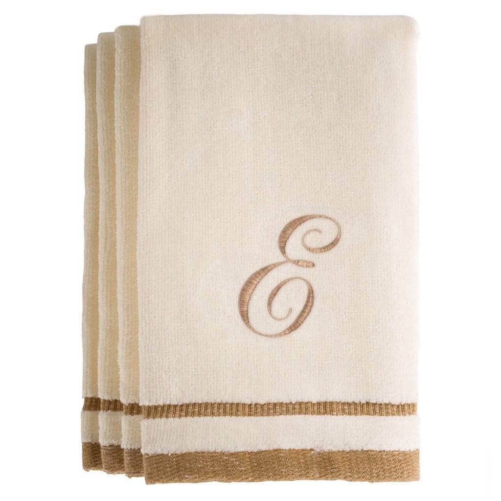 Luxury Embroidered Cotton Towels